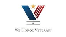 "The Auburn area office is proud to be affiliated with ""We Honor Veterans"" Program"