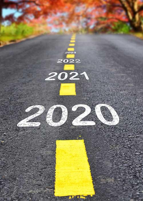 2020 heading into 2021